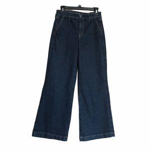 American Eagle Mid / Hi Rise Wide Leg Jean